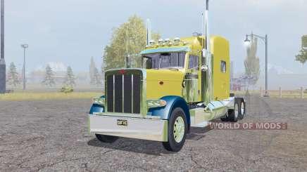 Peterbilt 379 1987 para Farming Simulator 2013