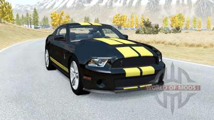 Shelby GT500 v1.1 para BeamNG Drive