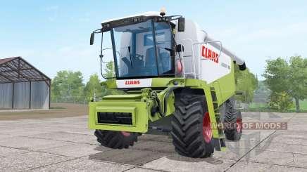 Claas Lexion 580 green and white para Farming Simulator 2017