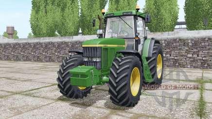 John Deere 7710 Michelin tires para Farming Simulator 2017