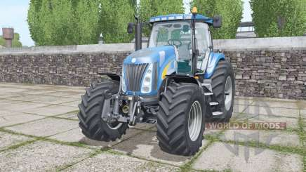 New Holland TG285 moving elements para Farming Simulator 2017