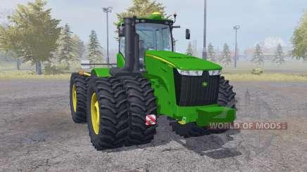 John Deere 9560R double wheels para Farming Simulator 2013