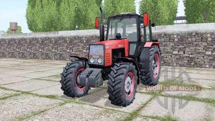 MTZ-1221 Bielorrusia, con la animación de las partes para Farming Simulator 2017