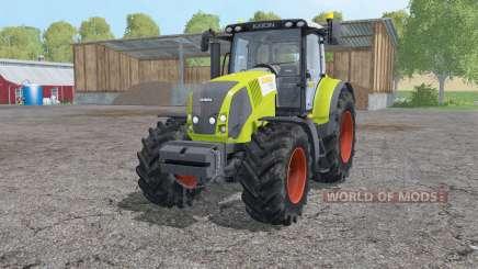 Claas Axion 830 loader mounting para Farming Simulator 2015