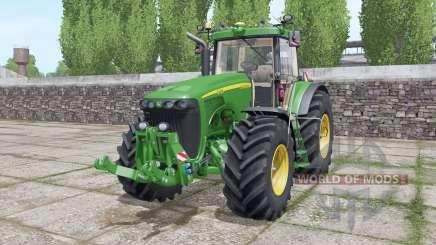 John Deere 8420 interactive control para Farming Simulator 2017