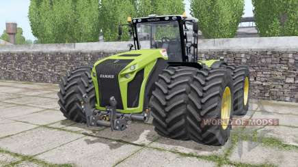 Claas Xerion 4500 Trac VC wheels selection para Farming Simulator 2017