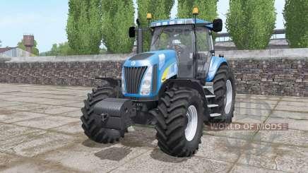 New Holland TG255 front weight para Farming Simulator 2017