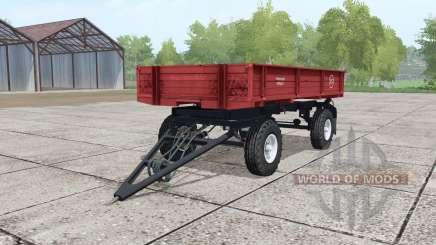 2ПТС-moderado 4-rojo para Farming Simulator 2017