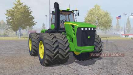 John Deere 9630 double wheels para Farming Simulator 2013