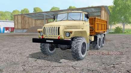 Ural 5557 luz de color grisáceo-amarillo para Farming Simulator 2015