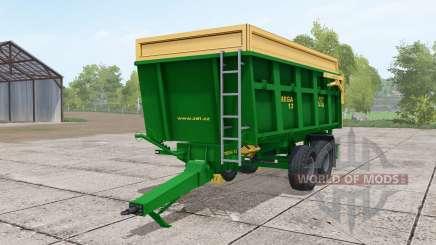 ZDT Mega 13 dark lime green para Farming Simulator 2017