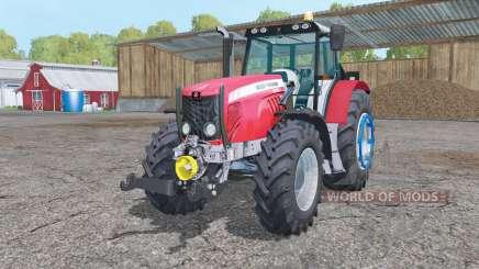 Massey Ferguson 5475 change wheels para Farming Simulator 2015