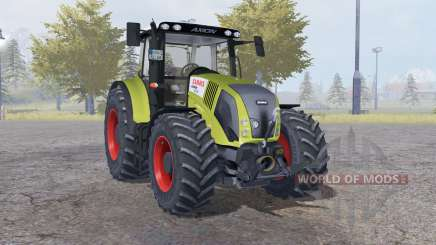 Claas Axion 850 dark moderate yellow para Farming Simulator 2013