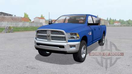 Dodge Ram 2500 Mega Cab 2009 para Farming Simulator 2017
