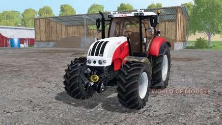 Steyr 6230 CVT strong red para Farming Simulator 2015