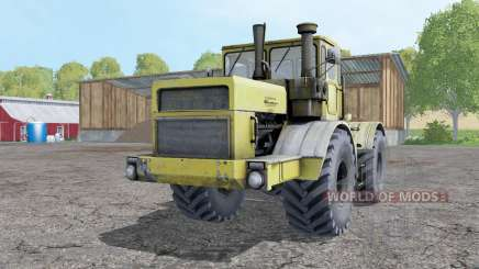 Kirovets K-700A color amarillo suave para Farming Simulator 2015