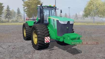 John Deere 9510R double wheels para Farming Simulator 2013
