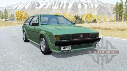 Volkswagen Scirocco GTX 1984 para BeamNG Drive