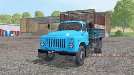 GAZ 53 4x4 ensilaje para Farming Simulator 2015