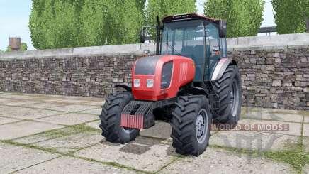 Belarús 2022.3 trasera ruedas duales para Farming Simulator 2017