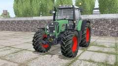 Fendt 716 Vario TMS Continental wheels para Farming Simulator 2017