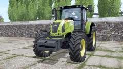 Claas Ariⱺn 640 para Farming Simulator 2017