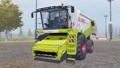 Claas Lexion 550 with header para Farming Simulator 2013