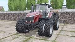 Massey Ferguson 8737 more options para Farming Simulator 2017