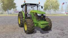 John Deere 6170R front loader para Farming Simulator 2013