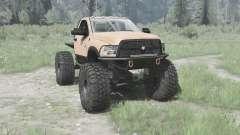 Dodge Ram 3500 Heavy Duty 2012 TTC para MudRunner