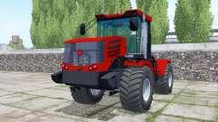 Kirovets K-744Р4 ruedas dobles para Farming Simulator 2017