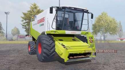 Claas Lexion 560 with header para Farming Simulator 2013