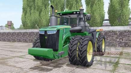 John Deere 9420R wheels selection para Farming Simulator 2017