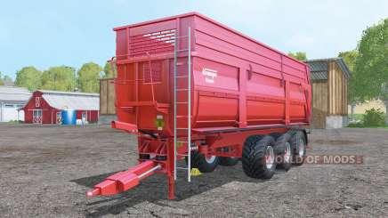 Krampe BBS 900 increased load capacity para Farming Simulator 2015