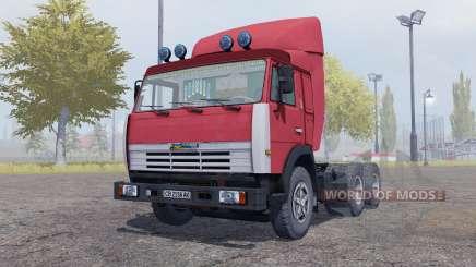 KamAZ 54115 remolque Odaz 9370 para Farming Simulator 2013