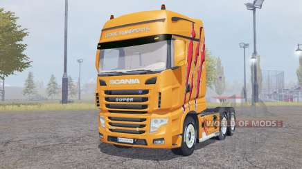 Scania R700 Evo Cedric Transports Edition para Farming Simulator 2013