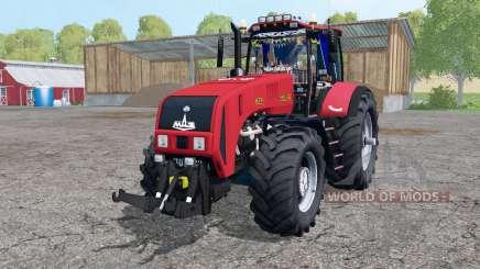 Belarús 3522 ruedas gemelas para Farming Simulator 2015