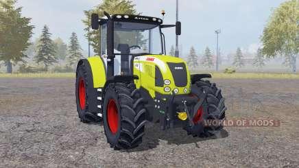 Claas Arion 640 front loader para Farming Simulator 2013