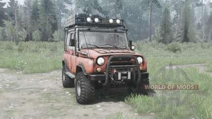UAZ 31514 1993 Off-road para MudRunner