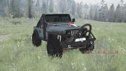 Jeep Wrangler (YJ) 1990 para MudRunner