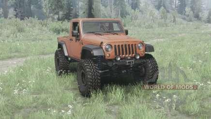 Jeep Wrangler (JK) pickup para MudRunner
