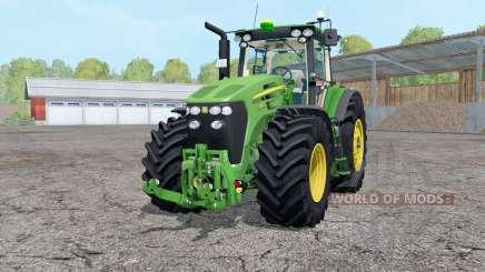 John Deere 7930 ruedas weightᶊ para Farming Simulator 2015