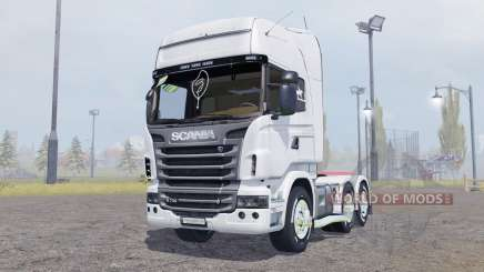 Scania R730 V8 Topline v2.0 para Farming Simulator 2013