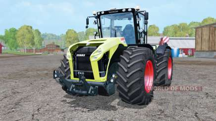 Claas Xerion 4000 Trac VC double wheels para Farming Simulator 2015