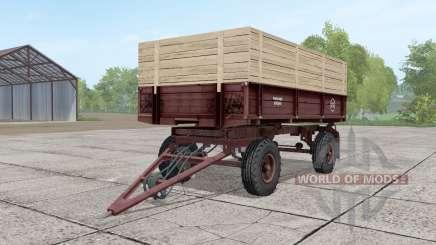 2ПТС-4 ninasimone-rojo oscuro para Farming Simulator 2017