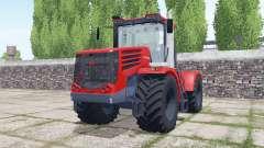 Kirovets K-744Р4 con una selección de configuraciones para Farming Simulator 2017