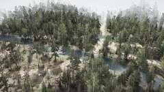 Siberiano de la selva para MudRunner