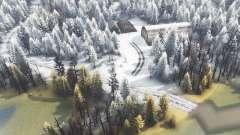 Isla de invierno para Spin Tires