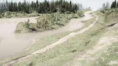 Carretera de la selva para MudRunner