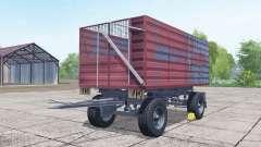 Conow HW 80 desaturated red para Farming Simulator 2017